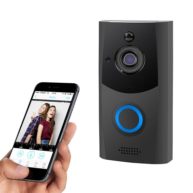 Zoray Security Alarm Doorbell Camera Smart Wireless WiFi Video Intercom Door Bell