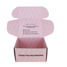 Yilucai custom printed packing carton shipping postal boxes cardboard box mailing box