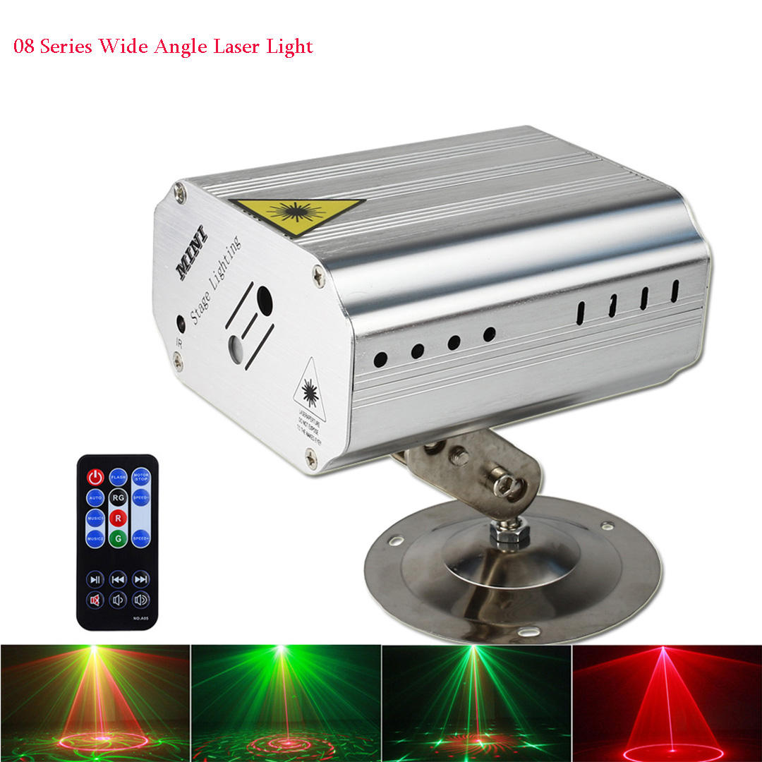Remote Control KTV Bar Birthday Party Laser Lights DJ Disco Stage Lights Projector Lighting