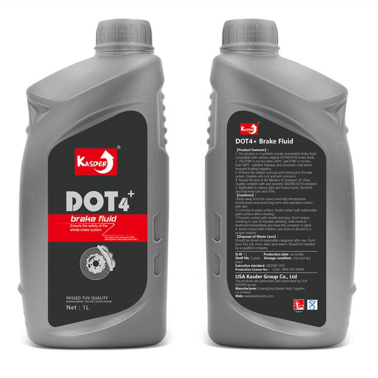 Full Synthetic Automotive Lubricant Anti-corrosion Car Dot 4 Brake Fluid