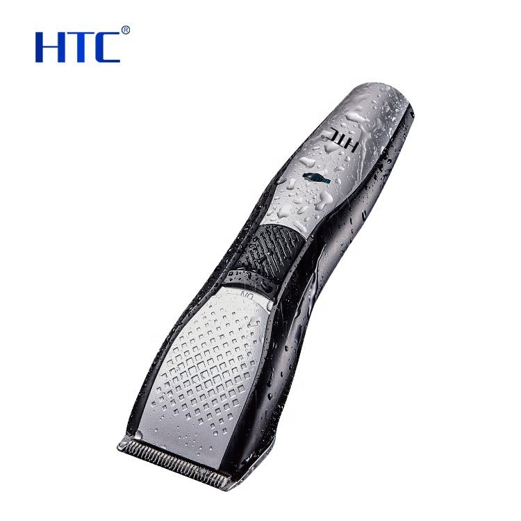 HTC AT-729 buy wireless barber shop powerful mens cordless rechargeable hair trimmer clippers