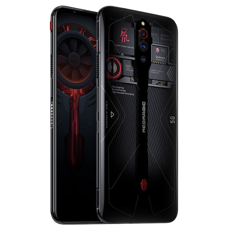 "10pcs Global version Nubia Red Magic 5G smartphone16GB Ram 256GB Rom 6.65"" Amoled 2340x1080p Screen Android 10 Snapdragon 865"