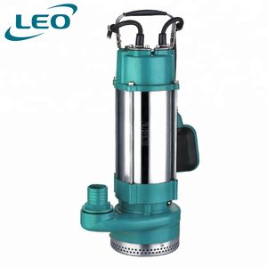 LEO 1.5KW 2HP Stainless Steel Submersible Clean Water Pump