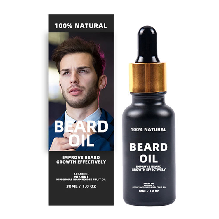 MOQ 50 OEM Customized Natural Fragrance Beard Nourishing And Moisturizing Organic Beard Growth Oil