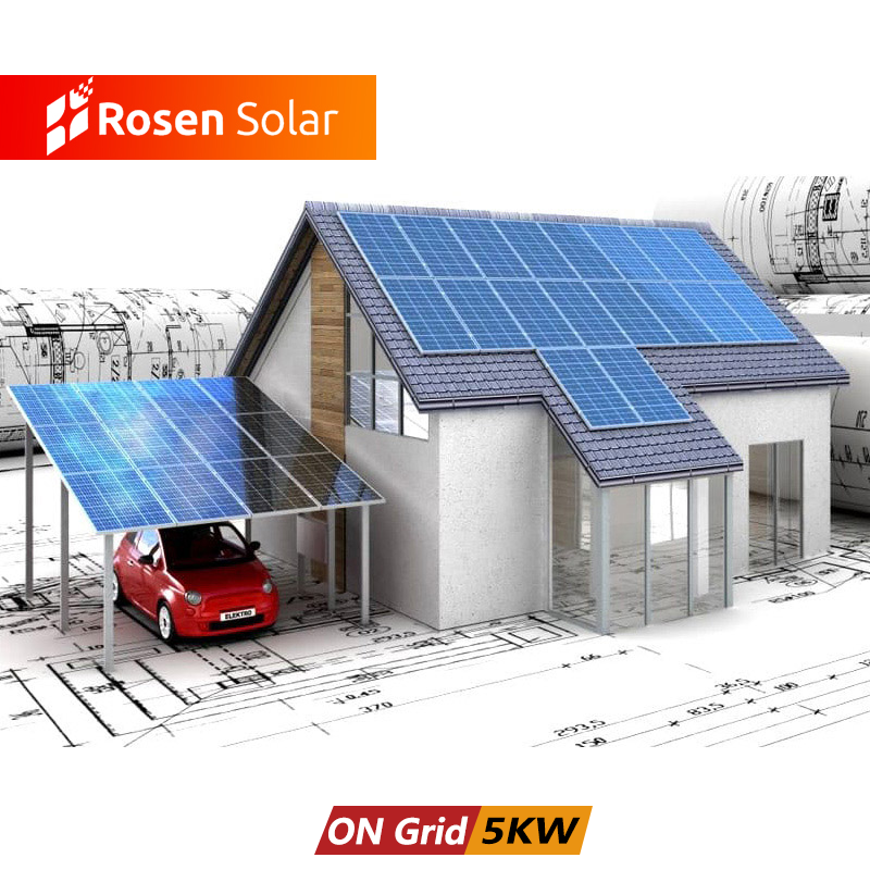 Best Price Solar Energy Systems Home Solar Panel System 5kw 10kw On Grid