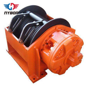 Small high speed crane hydraulic winch 2 ton
