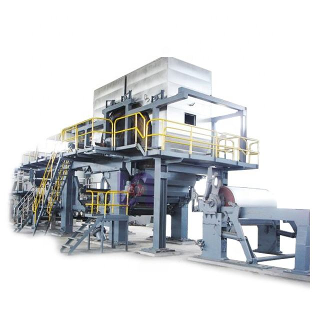 Raw Material Mini Automatic Cotton Waste Recycle Pulp A4 Printing Paper Making Machine Price