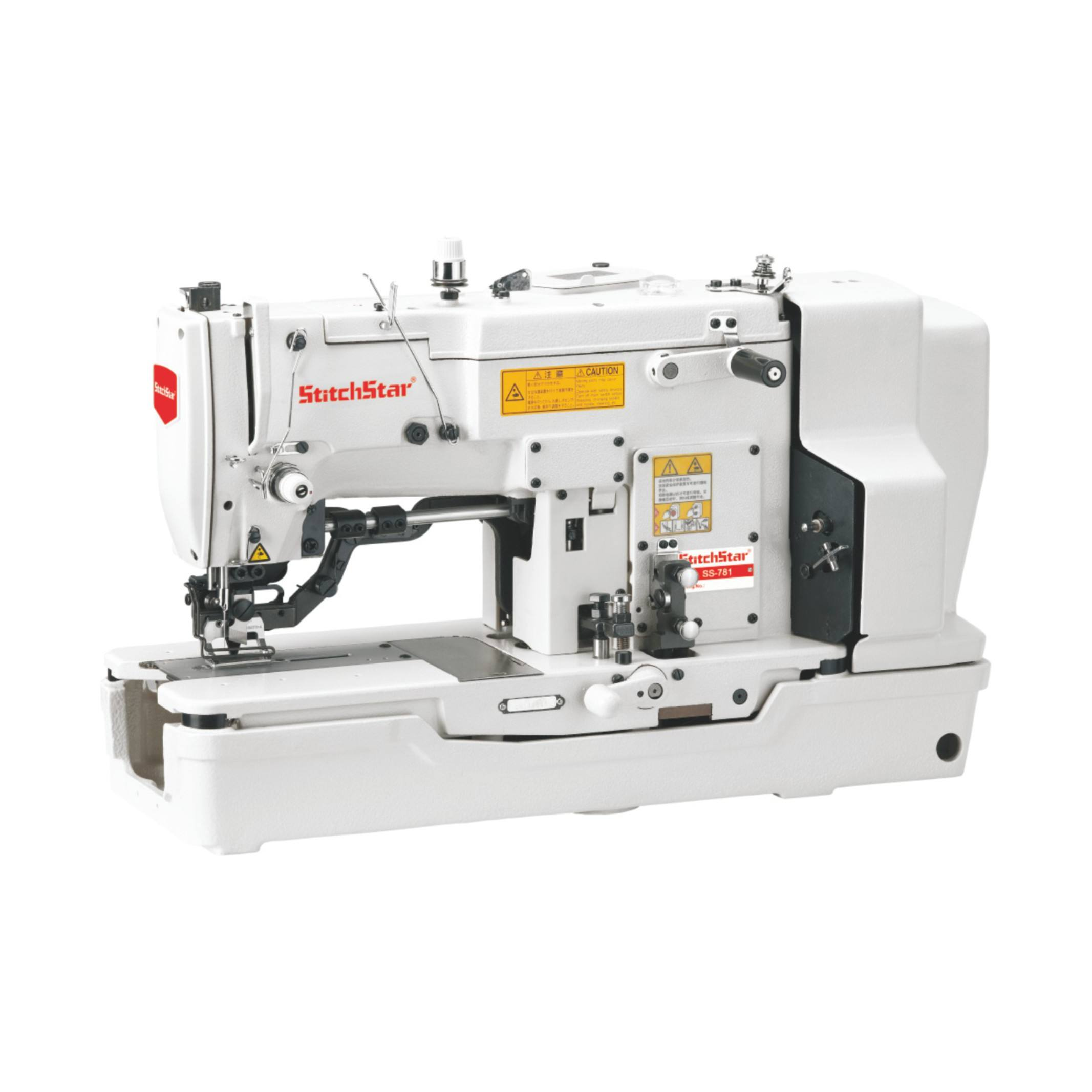 SS-781 Ju ki Style Pulley Type High Speed Buttonhole Sewing Industrial Buttonhole Machines