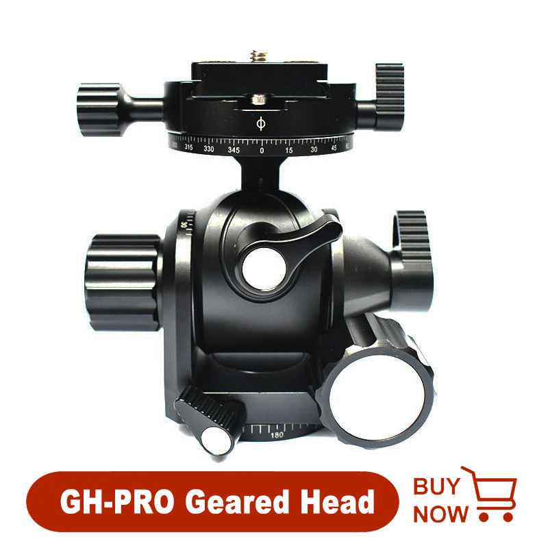 KANEED 1//4 inch Screw Metal Tripod Ball Head Adapter with Lock Tripod Head