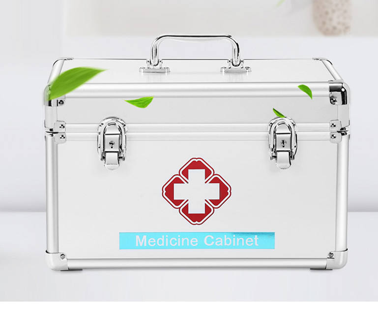 hot sale Silver Aluminum medical box first aid case