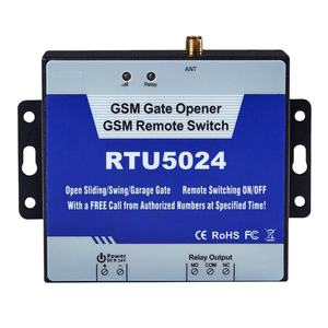The GSM 3G 4G Gate Opener RTU5024 is an powerful wireless Relay used for authorized door access, controlling gates