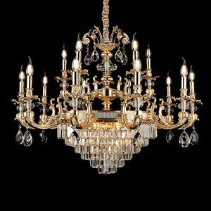 Low price high quality hotel chandeliers ceiling glass bead chandeliers from China