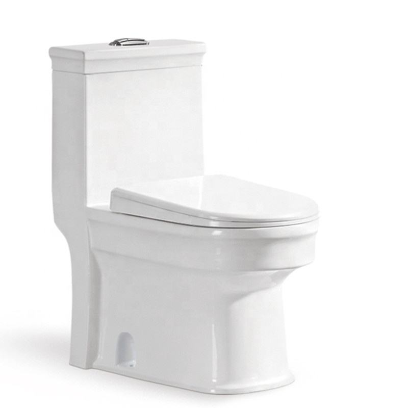 Building materials gravity flushing porcelain water closet