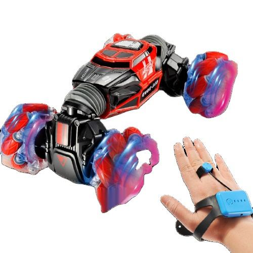 Hand Watch Induction Remote Control Stunt Car Function Double-Sided Tumbling Stunt Car Rc Toy Climbing Off-Road Rc Drift Car