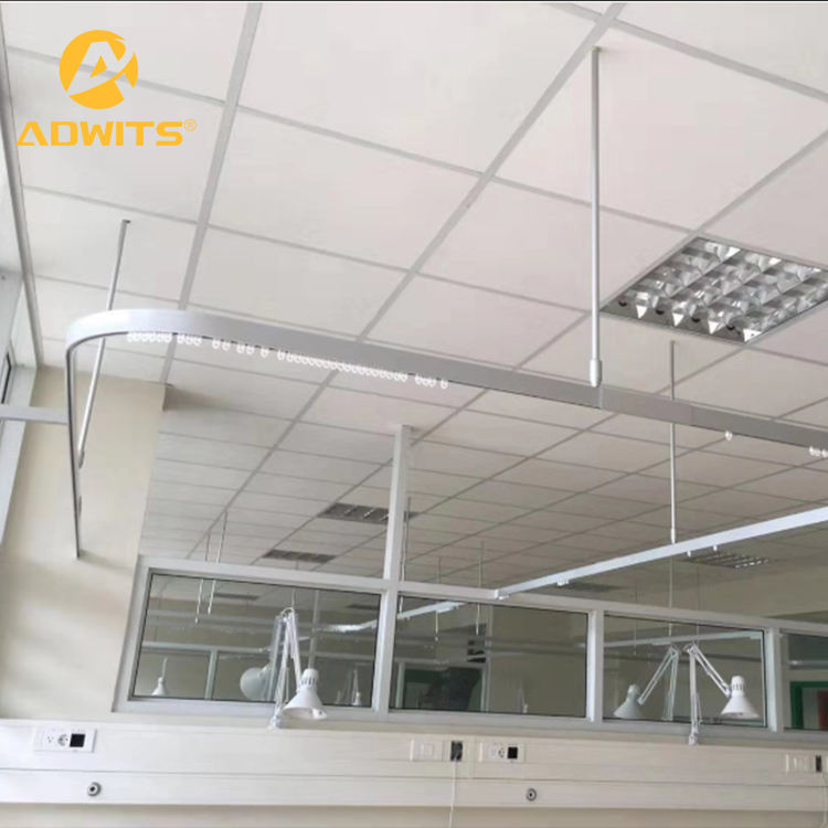 universal new style hospital drapery rail track aluminum safety firm hospital curtain track