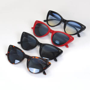 Clearance sale high quality fashion designer unisex plastic sunglasses