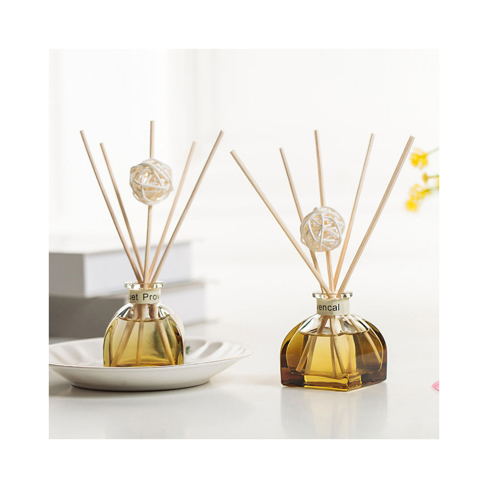 2019 Aroma Ocean Manufacture Fragrance Glass Scented Reed Diffuser Rattan Stick