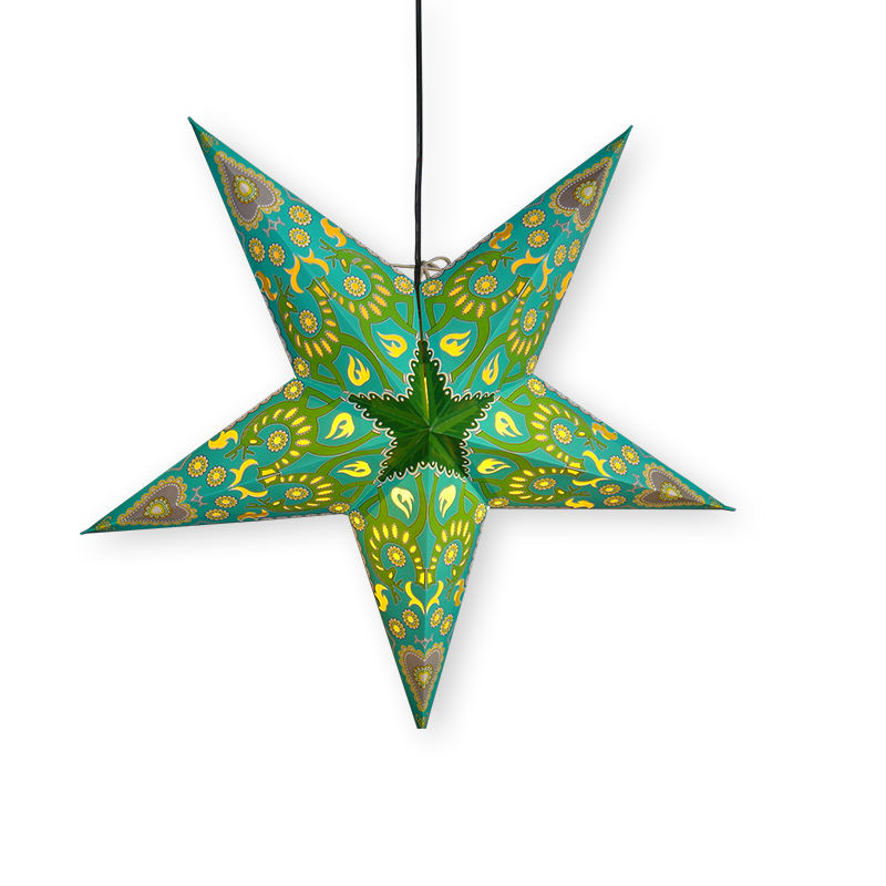 Paper star lantern decorative cheap wholesale paper lantern pendant lighting