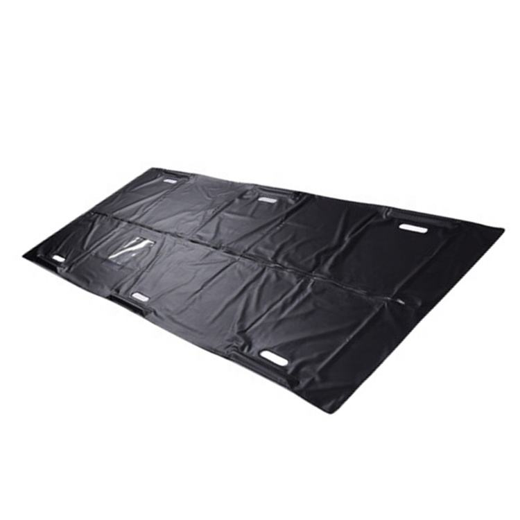 Funeral Supply Leakproof Waterproof Disposable PVC Body Bag With Zipper