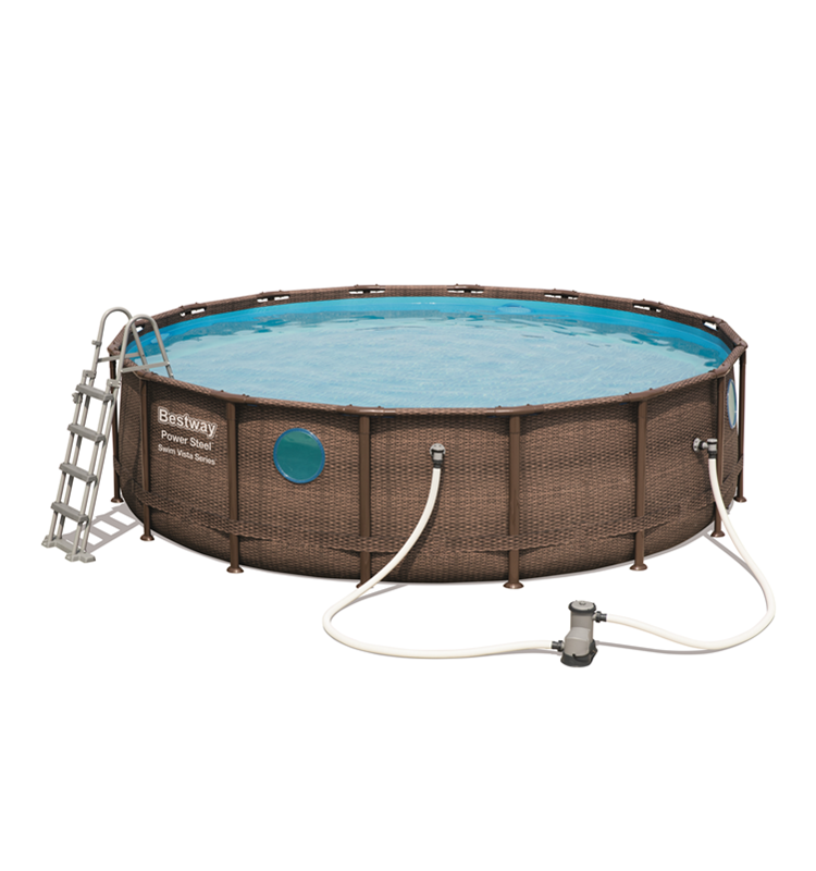 Bestway 56725 4.88m*1.22m rectangular frame pool for party