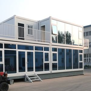 customized design color 1 2 3 4 floor prefab container office building