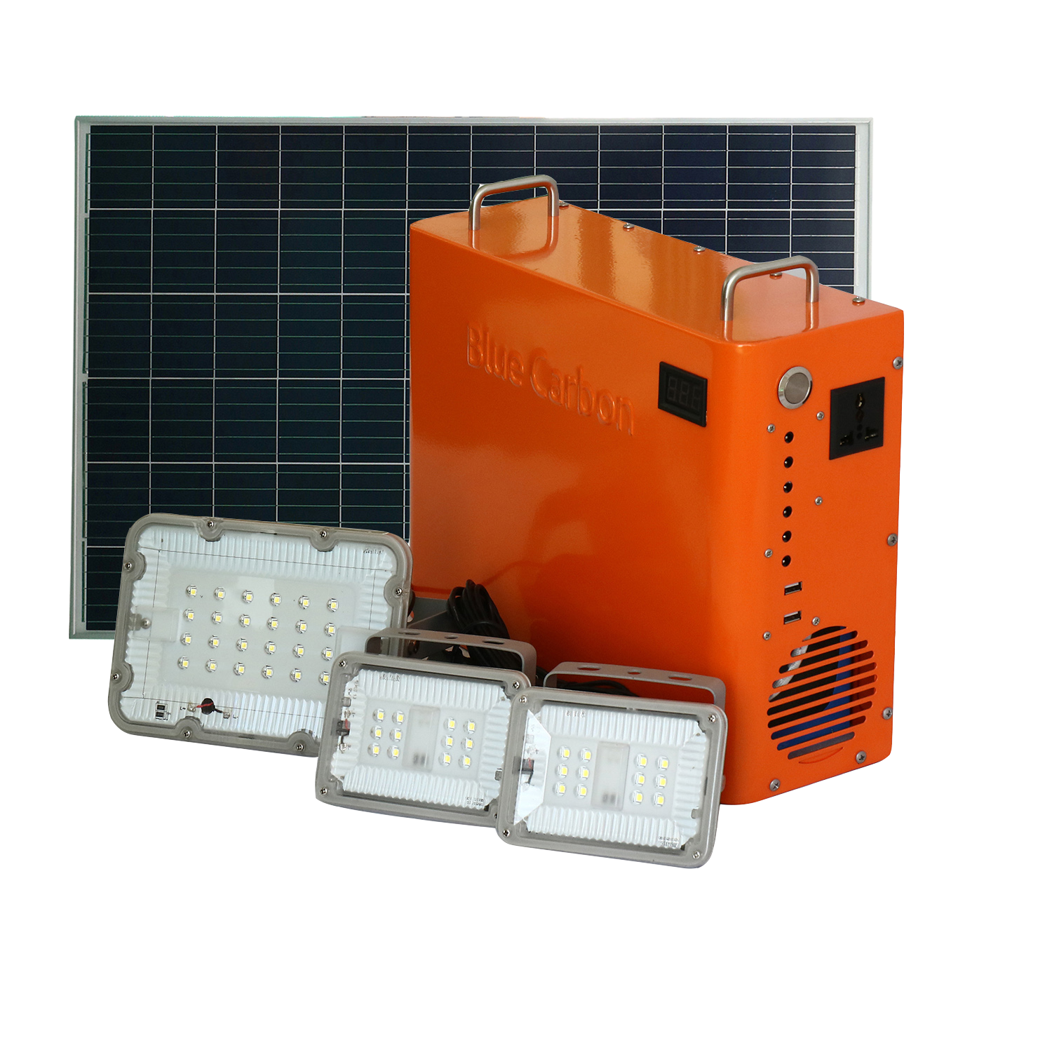 Directly from Manufacturer Off grid Solar Panel Power System for Home 1000W with BMS and Inverter