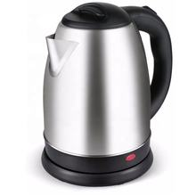 Stainless Steel Portable Electric Hot Water Kettle 1.8 Liter Silver
