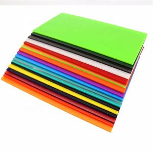 best price grade A corrosion resistance 4 x 8 multi color fochier acrylic sheet for decoration artwares