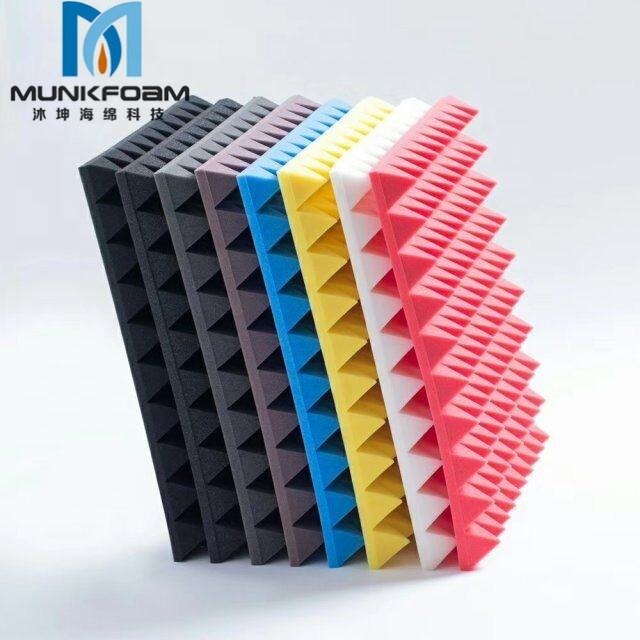 High-density flame retardant sound-absorbing sponge soundproof materialcotton Panel acoustic foam panels