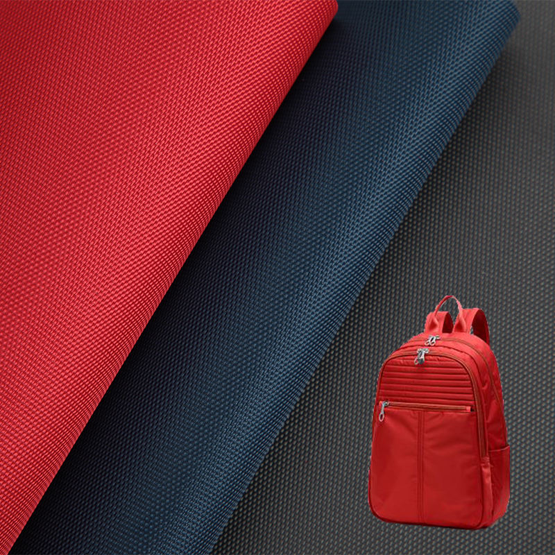 China best selling bag material 600D plain PU coating woven 100% polyester oxford fabric