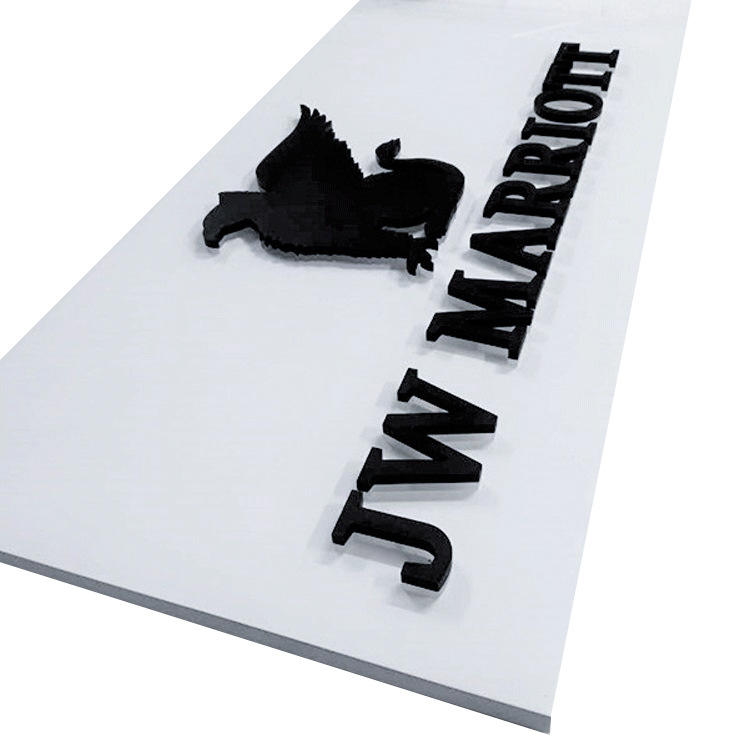 Custom 3d led backlit signage outdoor acrylic letter logo led sign