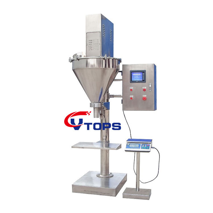 Low Price Powder Filling Machines Auger Filler Salt Dosing Machine with Good Quality
