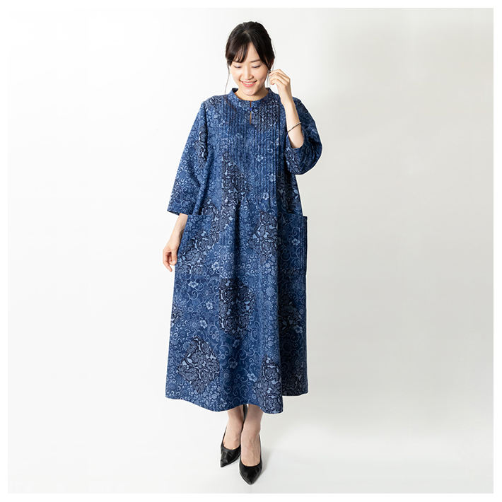 Elegant long dresses women casual made from high quality authentic Japanese kimono