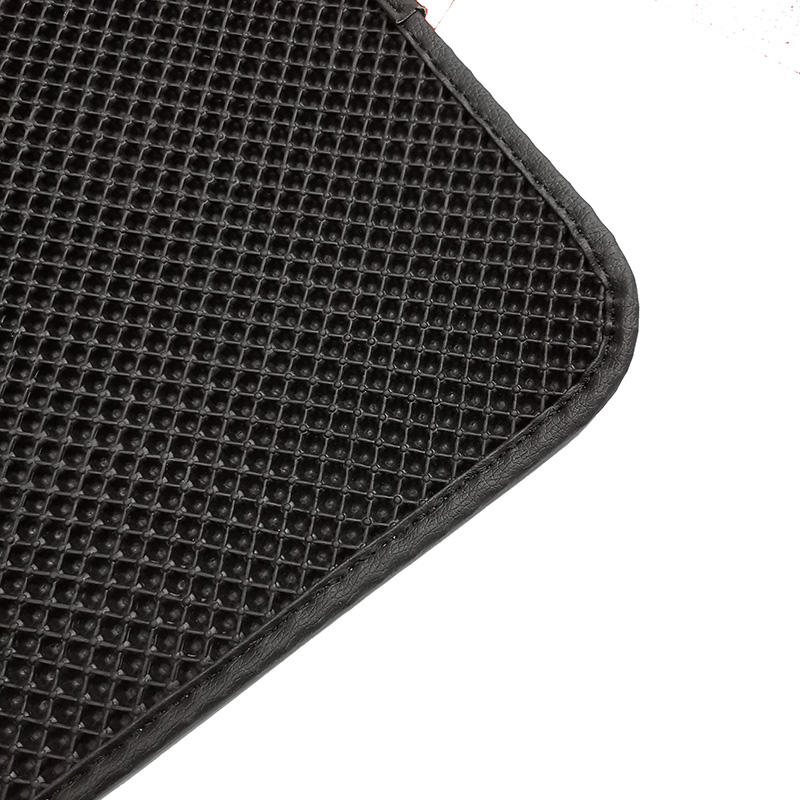 Custom pvc plastic material anti-slip 3pcs easy cleaning factory direct selling floor mats car foot mats for hyundia equus