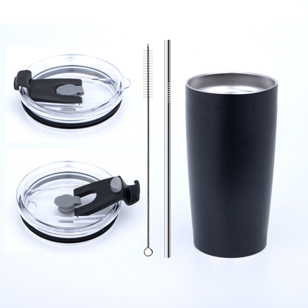 One-Stop Service Cups 20 Oz 20 OZ Double Wall Stainless Steel Vacuum 30OZ Tumbler With Straw Wholesale Glitter Skinny Metal Insulated Tumbler Cups With Lid