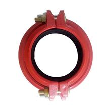 Ductile iron grooved fittings and couplings  for drinking water