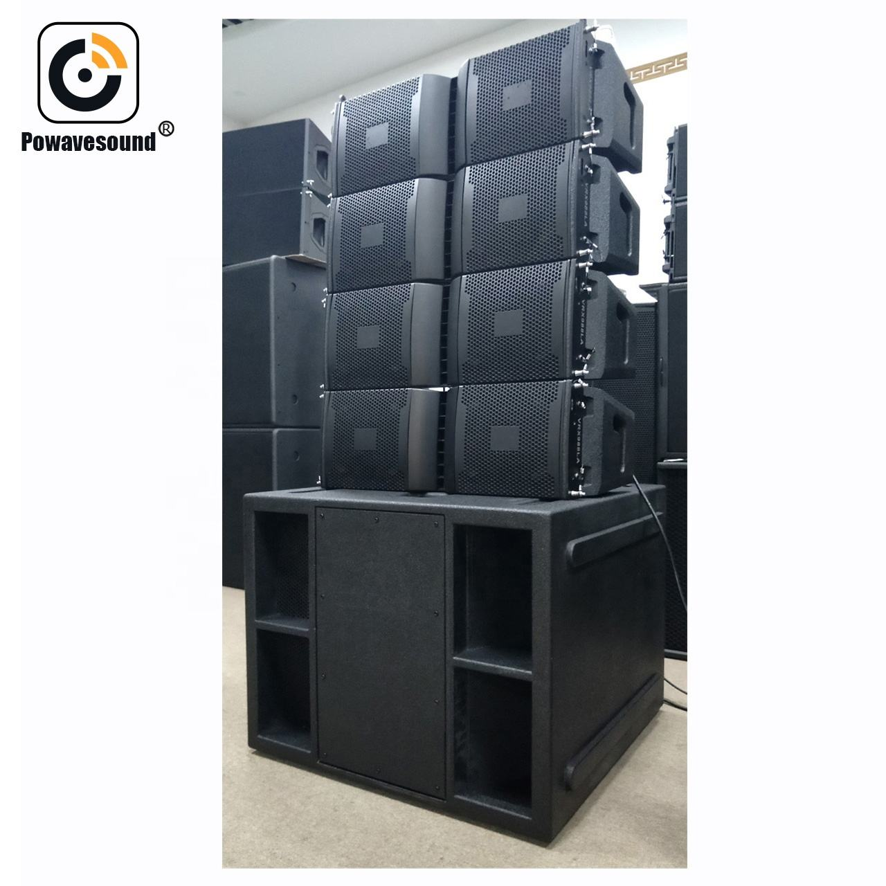 Active line array speakers china speaker factory direct offer low price high quality self powered line array speakers system