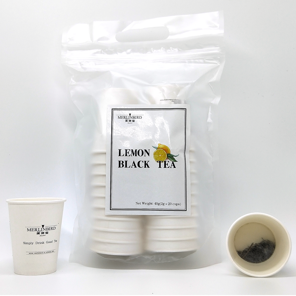Chinese Manufacture Instant Tea Yerba Mate Cup Lemon Black Tea for Sell