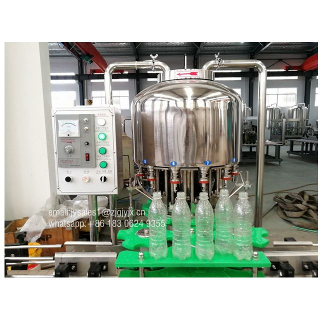Small business flavoured water bottling filling machine, complete bottle water production line