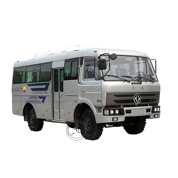 China dongfeng 4x4 cross country bus off road passenger 30 zits city bus voor verkoop
