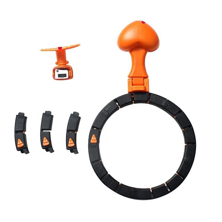 One-Stop Service Portable Detachable Smart Counting Flexible Sport Hula Hoop Yoga Waist Exerciser