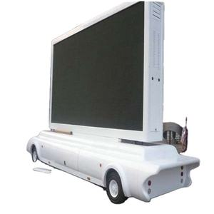 P6 P8 P10 Truck Mounted LED Billboard, Mobile advertising LED Display, Trailer Mounted LED Screen