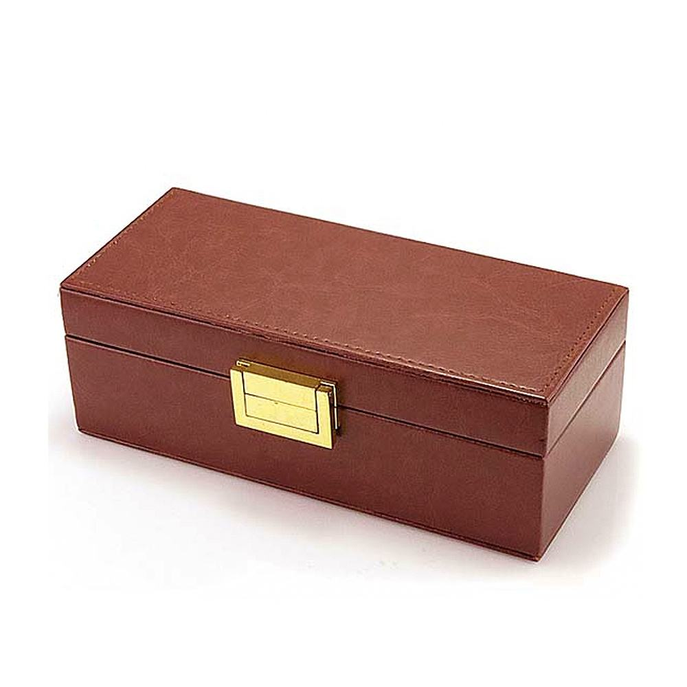 Wholesale Custom Leather Eye Glasses Packaging Case Eyewear Storage Bamboo Wood Box Sunglasses