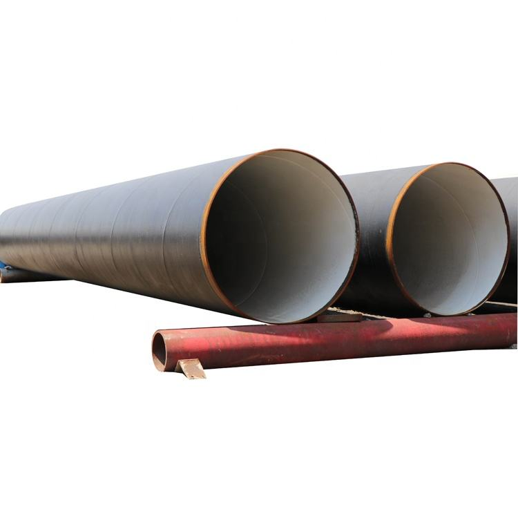 CREDIT API 5L SSAW LSAW Welded Steel Pipeline Large Diameter 3PE SSAW Spiral Carbon Steel Pipe For Fluid Petroleum oil and gas