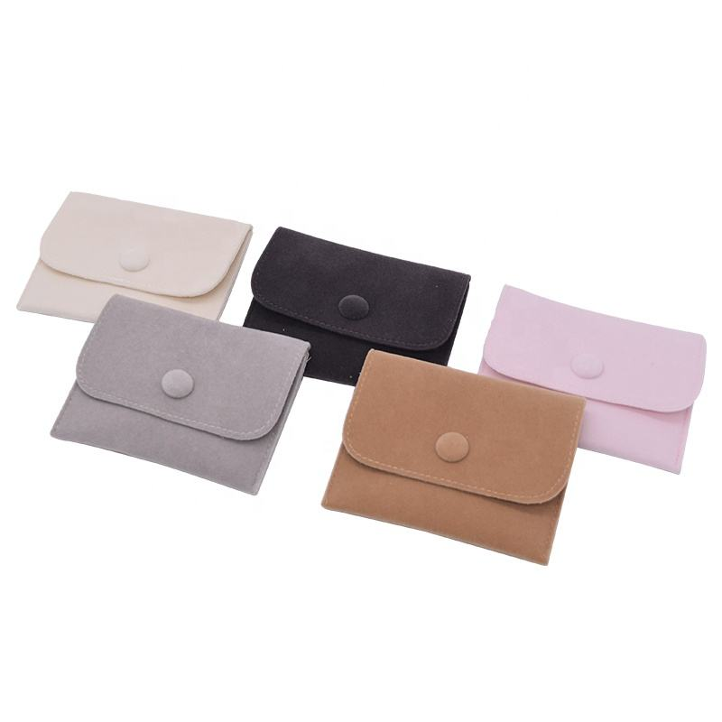 In Stock Small Velvet Cotton Design Jewelry Packing Pouch Jewelry Pouch