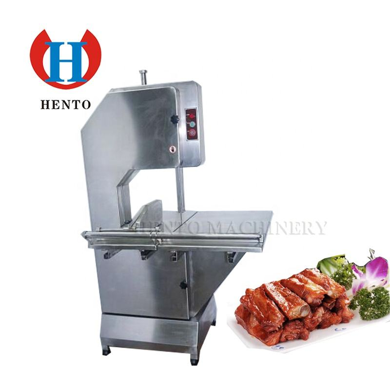 Long Working Cutting Machine for Frozen Meat / Industrial Frozen Meat Cutter / Frozen Meat Cutting Machine