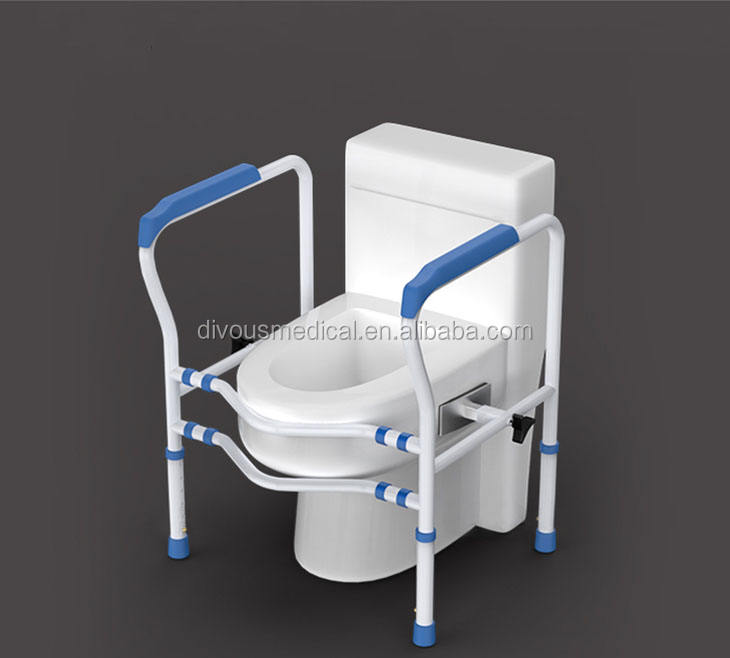 adjustable Toilet Armrest for aged disable people