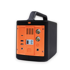 384Wh portable power station , for phone laptop , Uninterruptible power supply solar mobile power supply outdoor camping