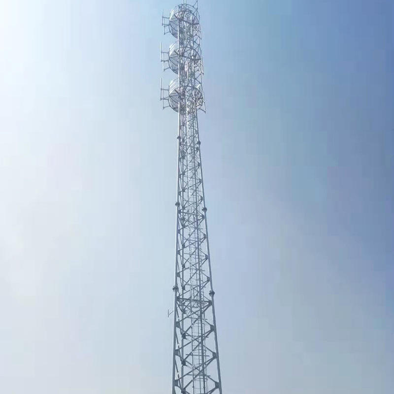 3 legged self support tower steel tube pylons telecommunication towers mobile towers