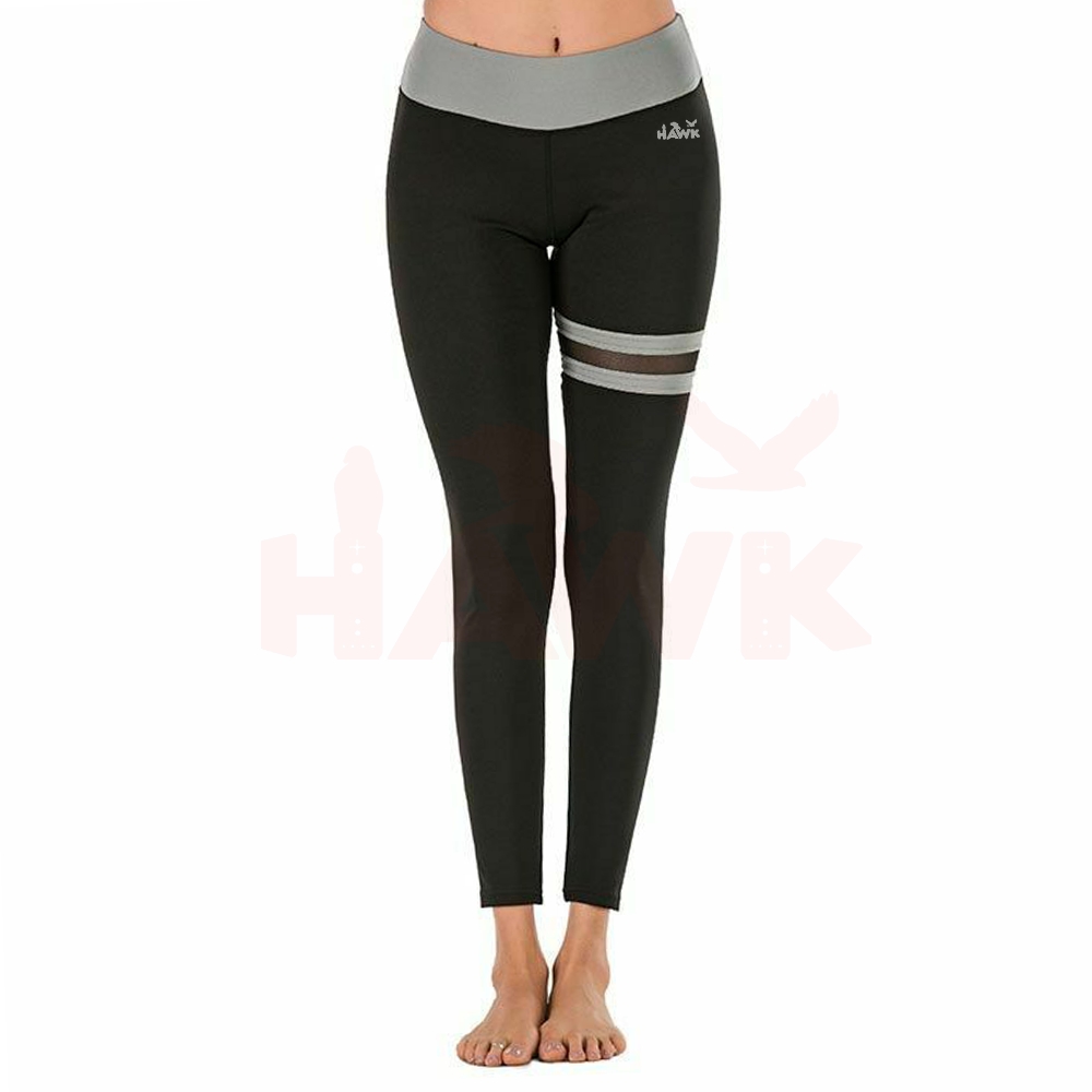 Yoga Wear Gym Fitness High Waisted Workout Leggings with Pocket Short Sport Pants Women